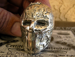 Death Race Mask Ring
