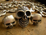 Skull Rings And Silver Chains