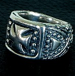 16b. Elite Cross Silver Ring.jpg