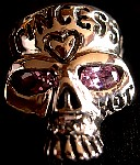 20R. Custom Princess Pink Eyed Skull Ring.jpg