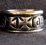 26. J-Dawgs Custom Silver Cross Ring.jpg