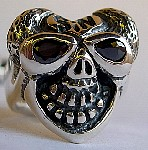 31HSHS. Custom Silver Heart Skull Ring.jpg