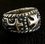 3b. Road King Silver Cross Ring.jpg