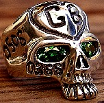 41R. Hot Secret Agent's Silver Skull Ring.jpg